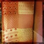 Vorhang oder Tischläufer