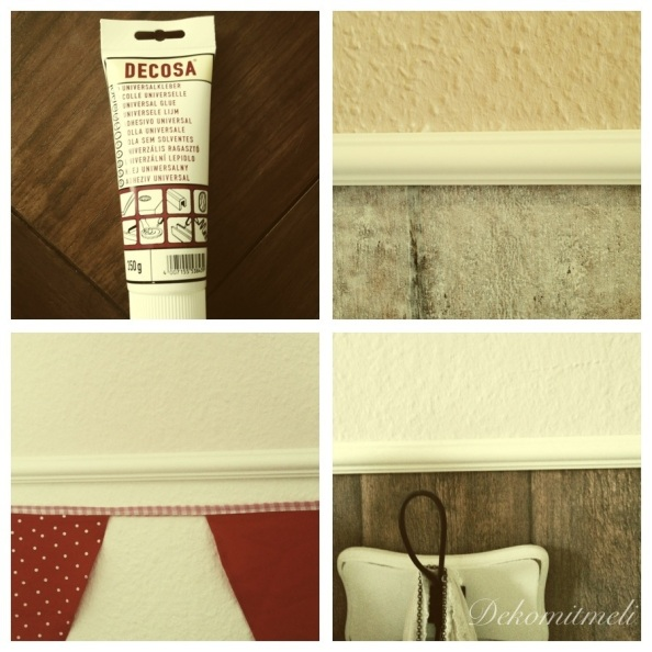 stuckleisten anbringen deko mit meli. Black Bedroom Furniture Sets. Home Design Ideas